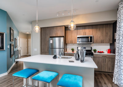 2BR model kitchen