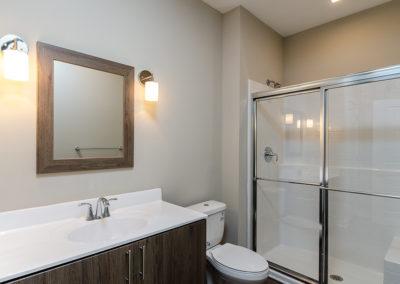 1BR den master bathroom