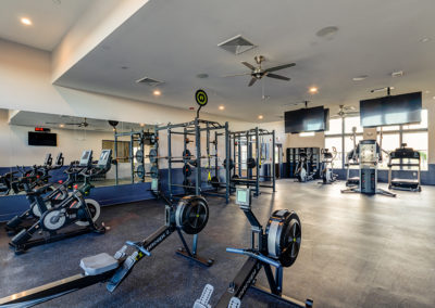 View our photo gallery image of apartment community gym