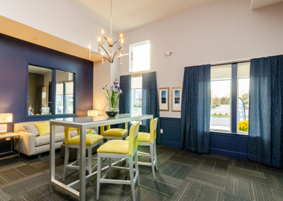View our photo gallery image of apartment community leasing office