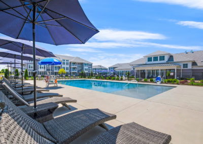 View our photo gallery image of apartment community pool