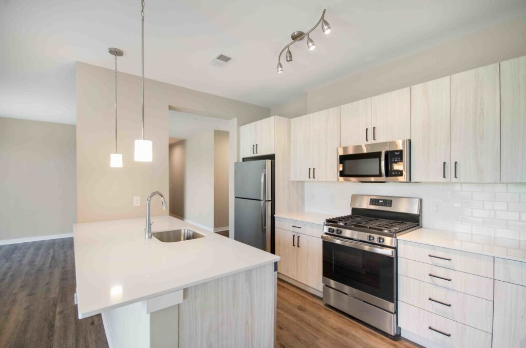 1392 square feet 2BR kitchen